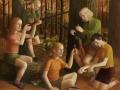 Wilderinnen, 2007, 120x145, Mischtechnik auf MDF
